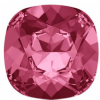 Swarovski 4470 Square Fancy stone 10mm Indian Pink